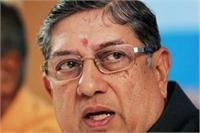 The development has left N Srinivasan cornered & there is a growing clamour for his removal from the top post. PTI