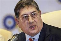 Srnivasan made clear his intention of  not resigning as BCCI president after reaching Mumbai. File Photo.