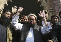 India today expressed outrage over the imminent release of Hafiz Saeed. PTI Photo.